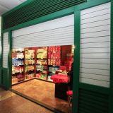 商業ローラーのドアは、前部圧延のドア買物をする