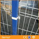 Twin double clôture à mailles de Wire Mesh clôture avec porte coulissante