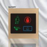 El panel al aire libre del sistema del timbre del hotel en el marco de acrílico del esquema (SK-dB100S3-S)