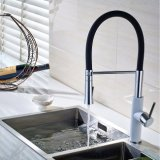 Flg Painting Faucet Brass Pull Out Mixer pour Eink Kitchen