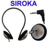 Auricular atado con alambre de la alta calidad del receptor de cabeza con ejecutarse de los deportes