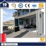 Portas dobra leve interior design de vidro transparente