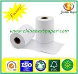 Personalizado de alta calidad pre-impresos rollos de papel térmico