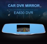 1080P FHD Blue Rearview Mirror Camera met Dual Lens