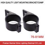 76-81mm de aluminio fuerte soporte de montaje Barra de luz LED (SG005)