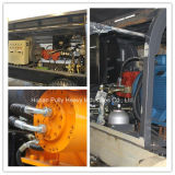 Bomba concreta do reboque elétrico hidráulico (Hbt80.16.110s_