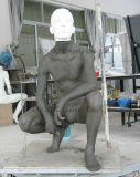 Mannequin masculino realístico do ODM para o indicador 0081 da loja