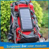 2016 de Draagbare Zonne6W Uitrusting van het Comité van de Lader Sunpower