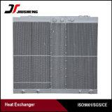 Plaque en aluminium fin de l'air échangeur de chaleur du compresseur