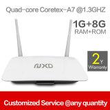 Vente en gros Quad Core 1 Go + 8 Go Android Smart TV Set Top Box Q2