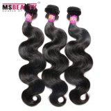 100% Extension de cheveux humains brésilien Virgin Natural Hair Weft