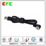 1pin imperméabilisent le cable connecteur d'aimant pour électronique