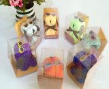 Изготовленный на заказ ясная коробка для малых игрушек (коробка PVC складывая)