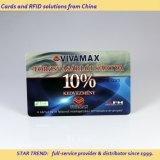 Cartões no Loco plástico de Hico do cartão do cartão do PVC do cartão de Bussiness