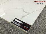 Calacatta weiße super glatte weiße glasig-glänzende Porzellan-Fußboden-Polierfliese Jrq6a023