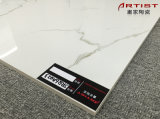 Плитка пола Jrq6a023 фарфора Calacatta белая супер лоснистая белая Polished застекленная