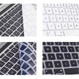 柔らかいシリコーンはMacBook Air/PRO/Retinaのためのキーボード保護装置を着色する