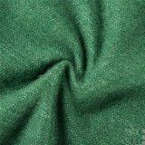 Tessuto Mixed delle lane di buon lustro nel verde
