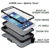 Sam 은하 S4를 위한 최신 판매 이동할 수 있는 덮개 케이스 내진성 전화 상자