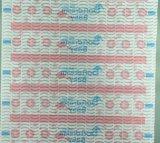 아기 기저귀 인쇄되는 정면 테이프 기저귀 정면 테이프를 위한 다채로운 비 길쌈된 직물