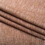 Шерсти/хлопко-бумажная ткань для пальто осени или зимы в Brown