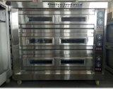 Gas 3 Dek 9 de Beste Aanbieding van de Apparatuur van de Bakkerij van de Oven van het Dek van het Dienblad