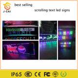 P10 Mover texto alto brillo LED pantalla LED Board firmar/.