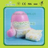Pannolini a gettare del bambino del pannolino del bambino del cotone con la grande fascia elastica della vita