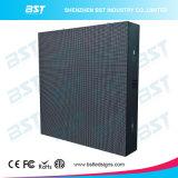 Alta risoluzione di Bst che fa pubblicità allo schermo di visualizzazione fisso esterno del LED di colore completo per l'alta luminosità P8