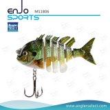 Multi-articulé Fishing Life-Like Lure Bass Bait Swimbait Shallow Hard Bait Fishing Lures (MS1806)