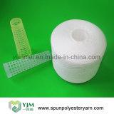 50/3 hilados de polyester hecho girar Virgen de costura del uso 100%