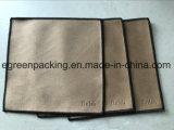 Ткани чистки ювелирных изделий Microfiber комбинация противобактериологической/двойной ткани