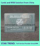 Scheckkarte ISO 7811 Cr80 mit magnetischem Streifen