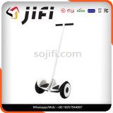 黒く白いカラーの製造業者のハンドルバー2の車輪の自己のバランスをとるスクーター