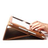 para el caso auto magnético de la estela del sueño de la cubierta elegante del cuero genuino de Samsung