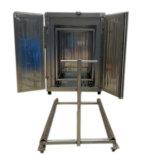 粉のコーティング装置(電気治癒のオーブン)