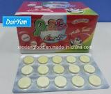 Bonbons au lait de la forme de la tablette avec du lait Flaovor