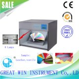 As lâmpadas standard de 6 a solidez da cor do tecido máquina de ensaio de resistência (GW-017)