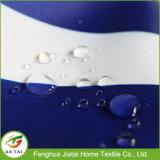 Tenda di doccia a strisce blu e bianca di lusso su ordinazione
