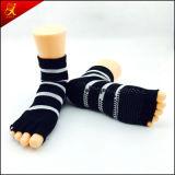 OEM Sokken van de Yoga van de Dienst de Naar maat gemaakte Antislip