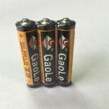batterie de zinc de carbone de 1.5V R03 D.C.A. (UM-4)