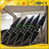 Persiana de aluminio de aluminio anodizado de obturación / con colores y tamaños personalizados