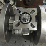 Robinet à tournant sphérique normal de flottement DIN avec la garniture d'ISO5211 Mouting