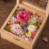 최신 인기 상품 결혼식을%s 새로운 나무로 되는 보존한 꽃 선물