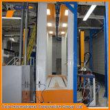 Cabine de pulverização de recuperação secundária de filtro monociclone