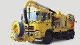 Kombinations-Hochdruckreinigungs-Vakuumabwasser, Abwasser-Klärschlamm-Zirkulations-ausbaggerndes Fahrzeug/LKW