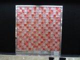 Het Mozaïek van het Glas van de Ritselen van de Rode Kleur van de Decoratie van de ontvangst (G815011)