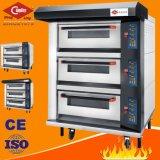 Berufsschutzträger-Maschinen-luxuriöser elektrischer Ofen mit Tellersegment 3 Deck/9