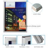 Publicidad del rectángulo ligero del LED para los precios del quiosco con la cartelera que hace publicidad de precios