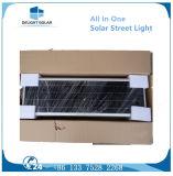 40W Mono кристаллический датчик все помина панели солнечных батарей PIR в одном солнечном уличном свете СИД